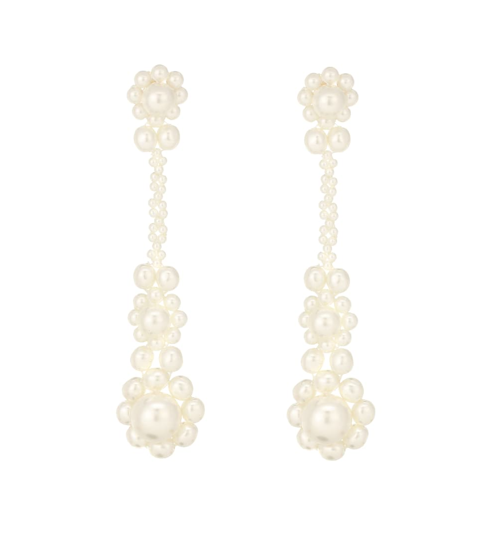 d77b03d6b Faux-Pearl Drop Earrings - Simone Rocha | Mytheresa