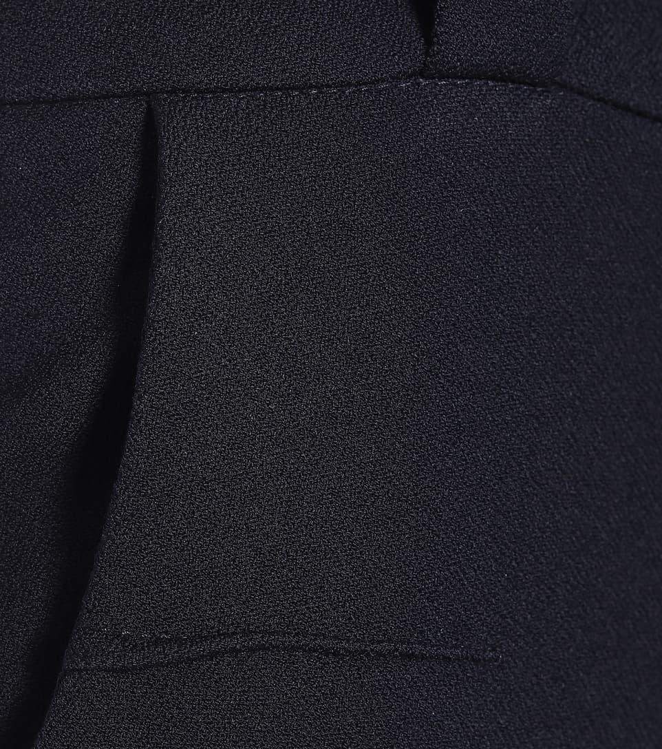 Roland Mouret - Lacerta mid-rise slim crêpe pants