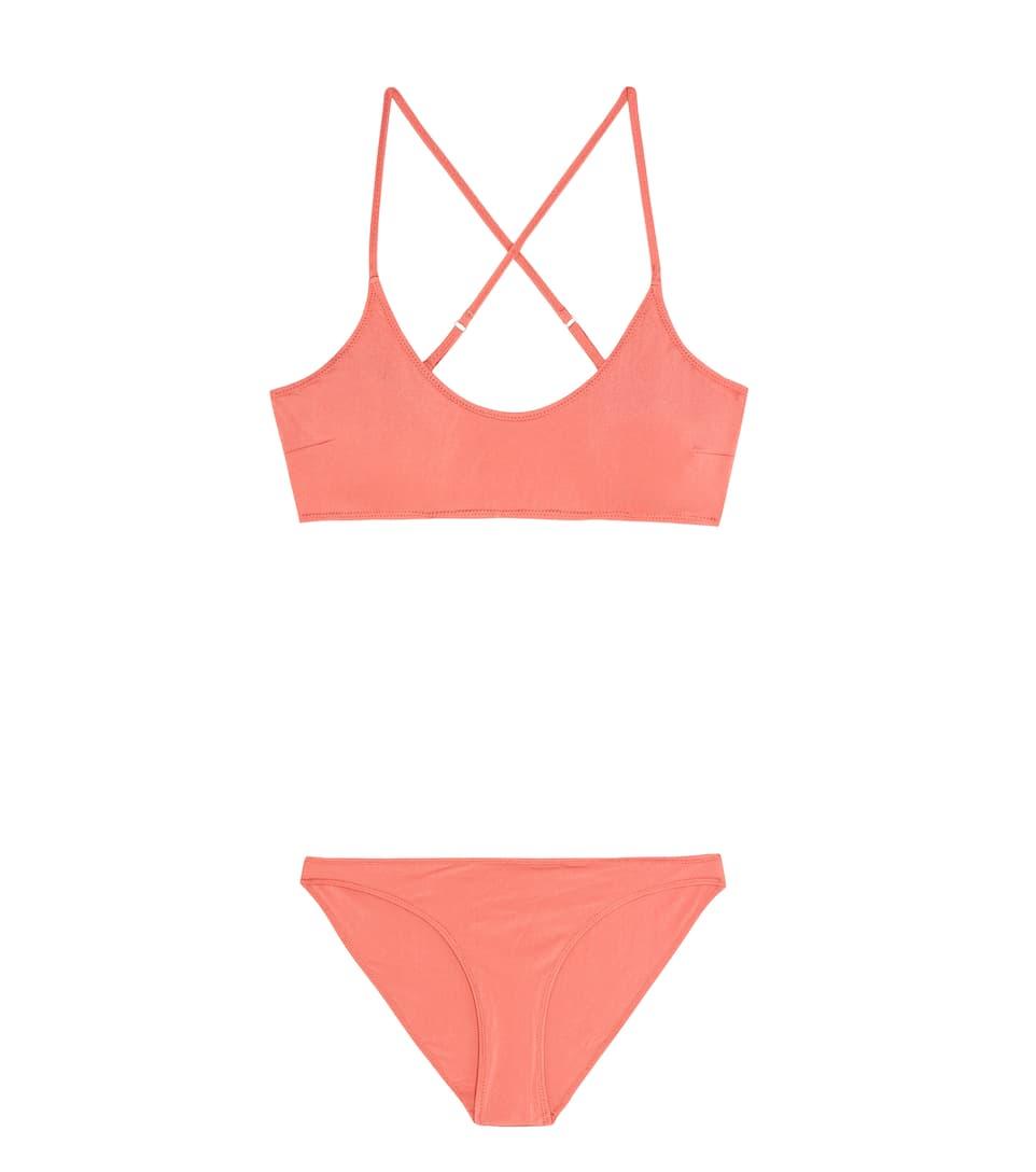 BOWER SWIMWEAR Catroux Bikini in Pink