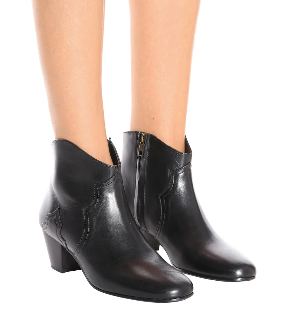 Isabel Marant Ankle Boots Dicker aus Kalbsleder