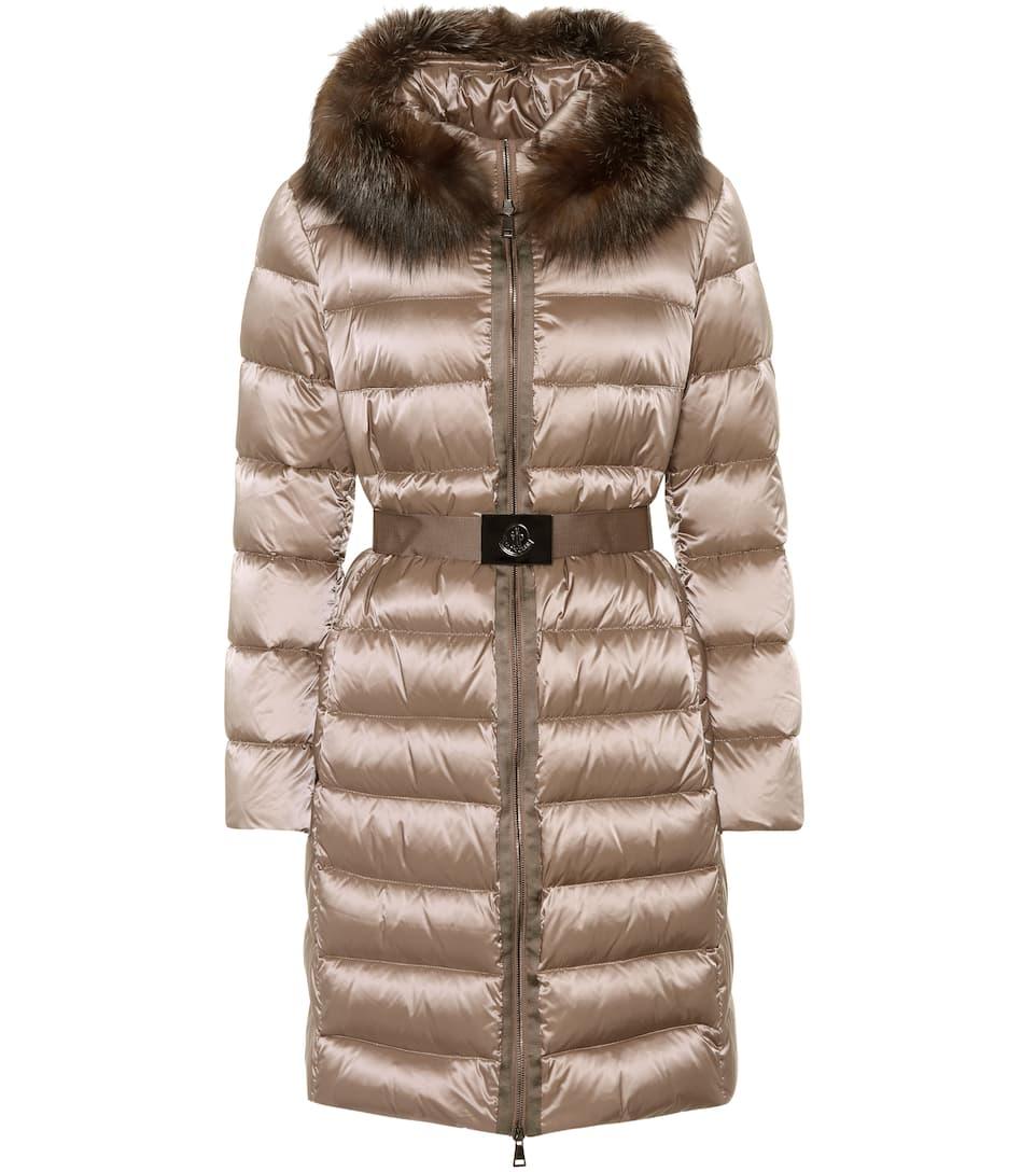 Moncler Daunenmantel Fake Fur