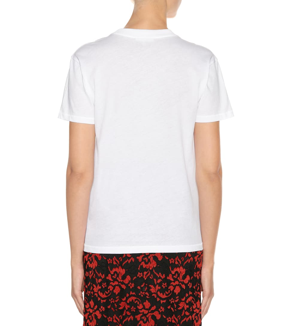 Ganni Exklusiv bei mytheresa.com – T-Shirt Harway aus Baumwolle