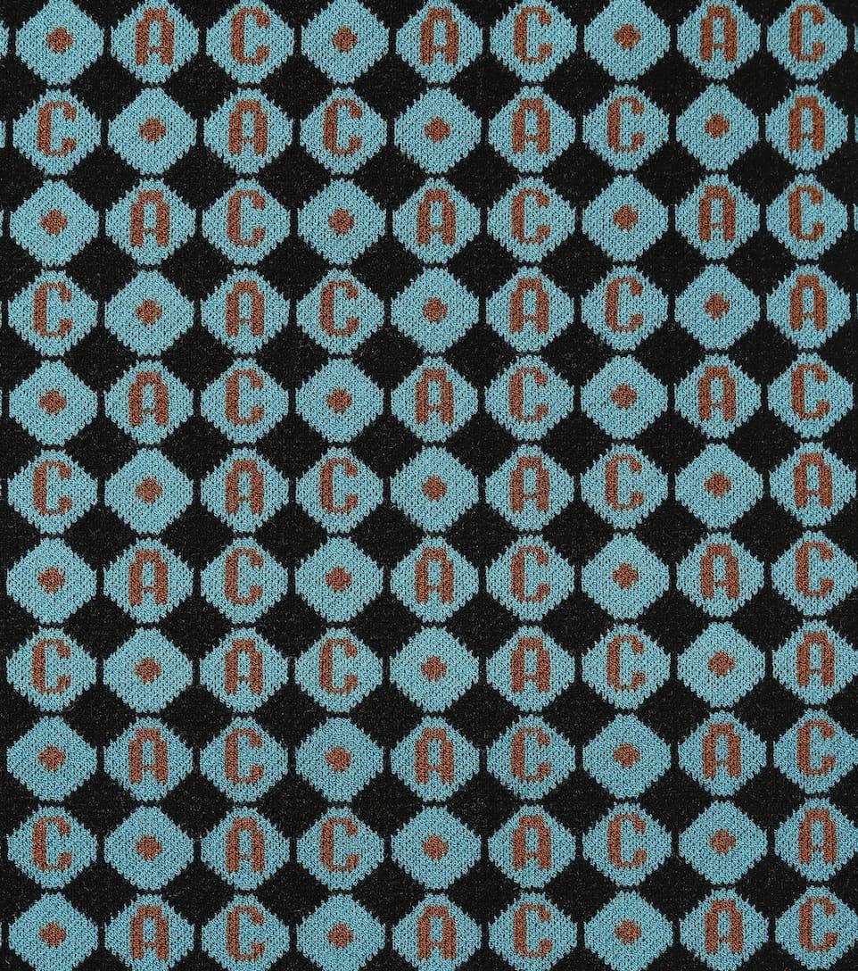 AlexaChung Minirock mit Muster