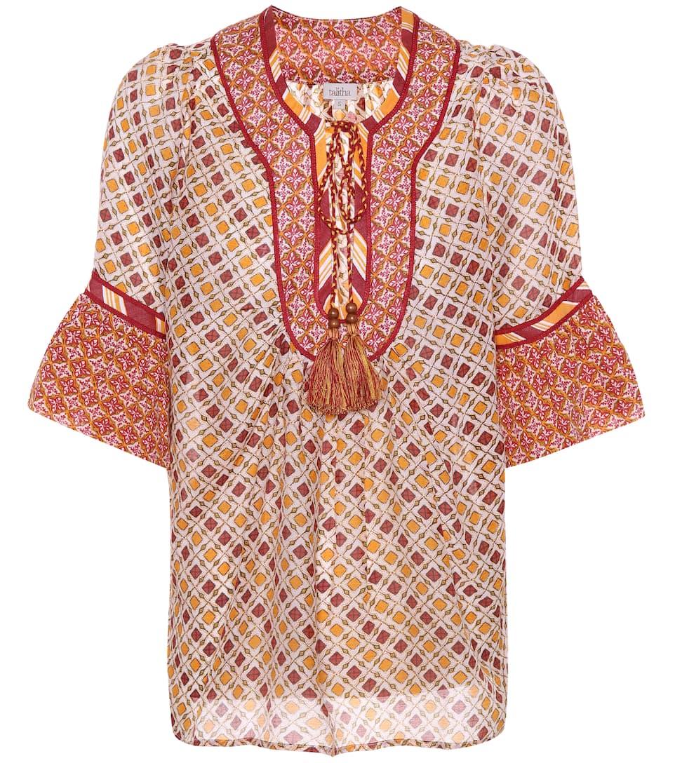 Talitha Top aus Baumwolle und Seide Spielraum Manchester Rabatt Modische Kauf pApiO0RK