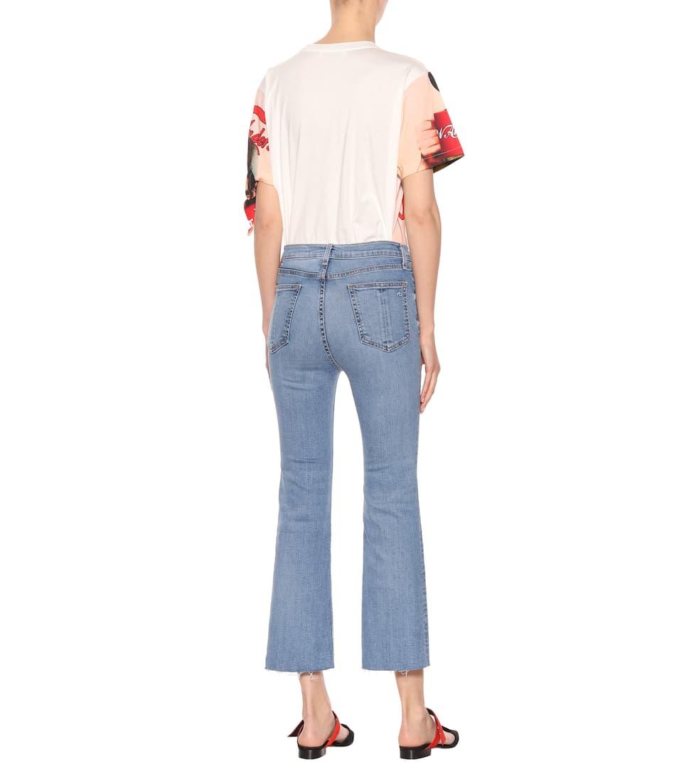 Rag & Bone Cropped Jeans Hana aus Stretch-Baumwolle