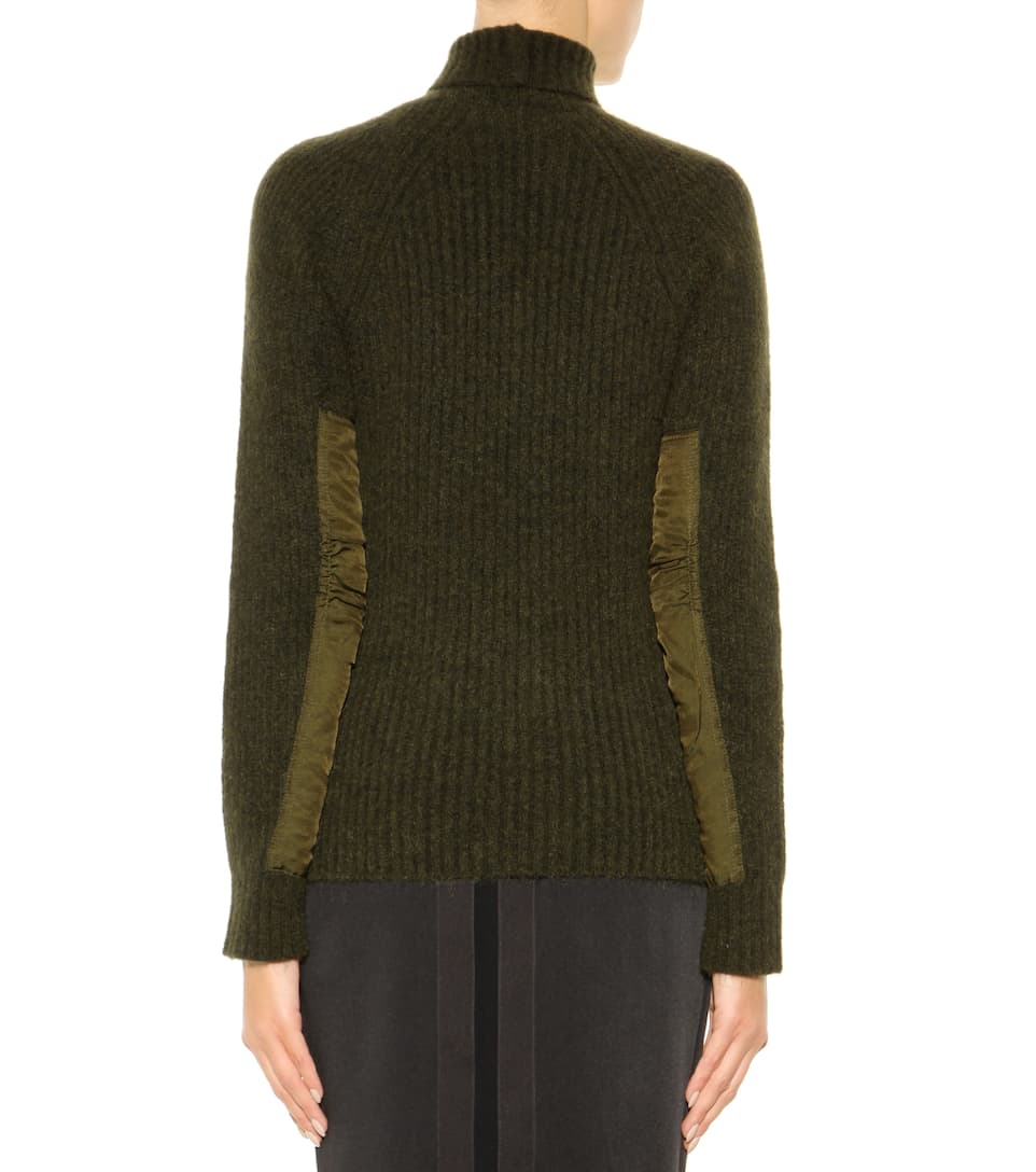 haider ackermann mohair and wool blend turtleneck sweater. Black Bedroom Furniture Sets. Home Design Ideas