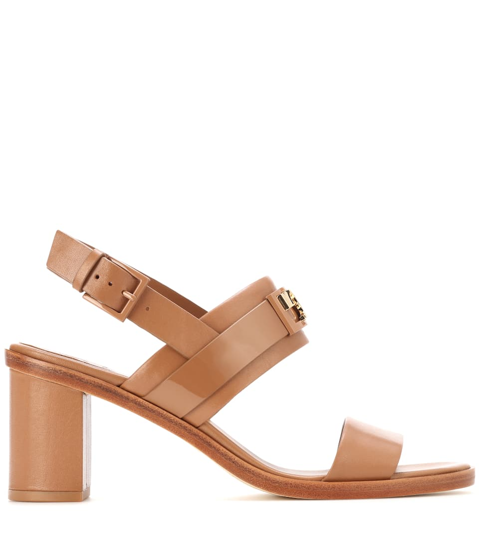 f66bcdc282cc9e Tory Burch - Gigi 65 Two Band leather sandals