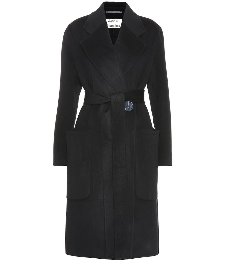 abrigo y Carice cachemira de marino azul lana Acne Studios 5Ixfq5F