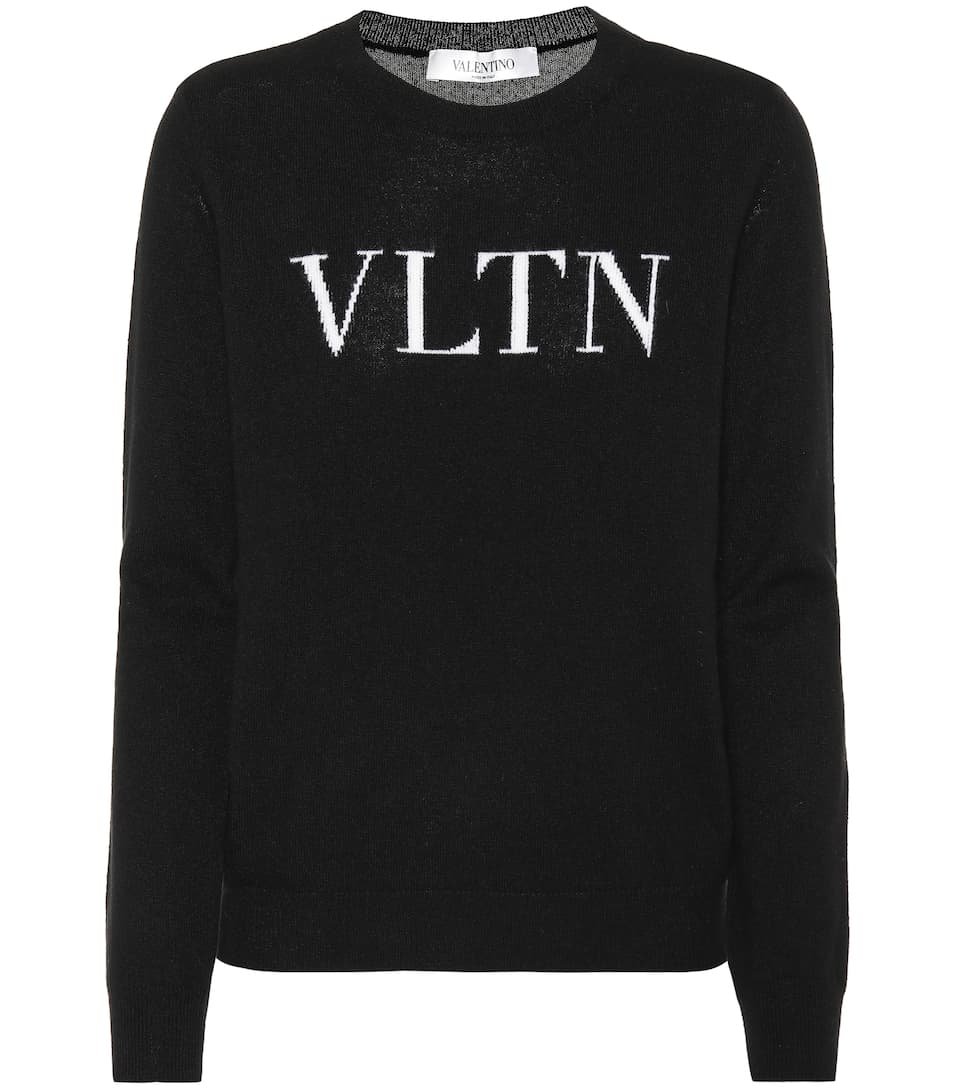 Pullover In Lana E Cashmere by Valentino