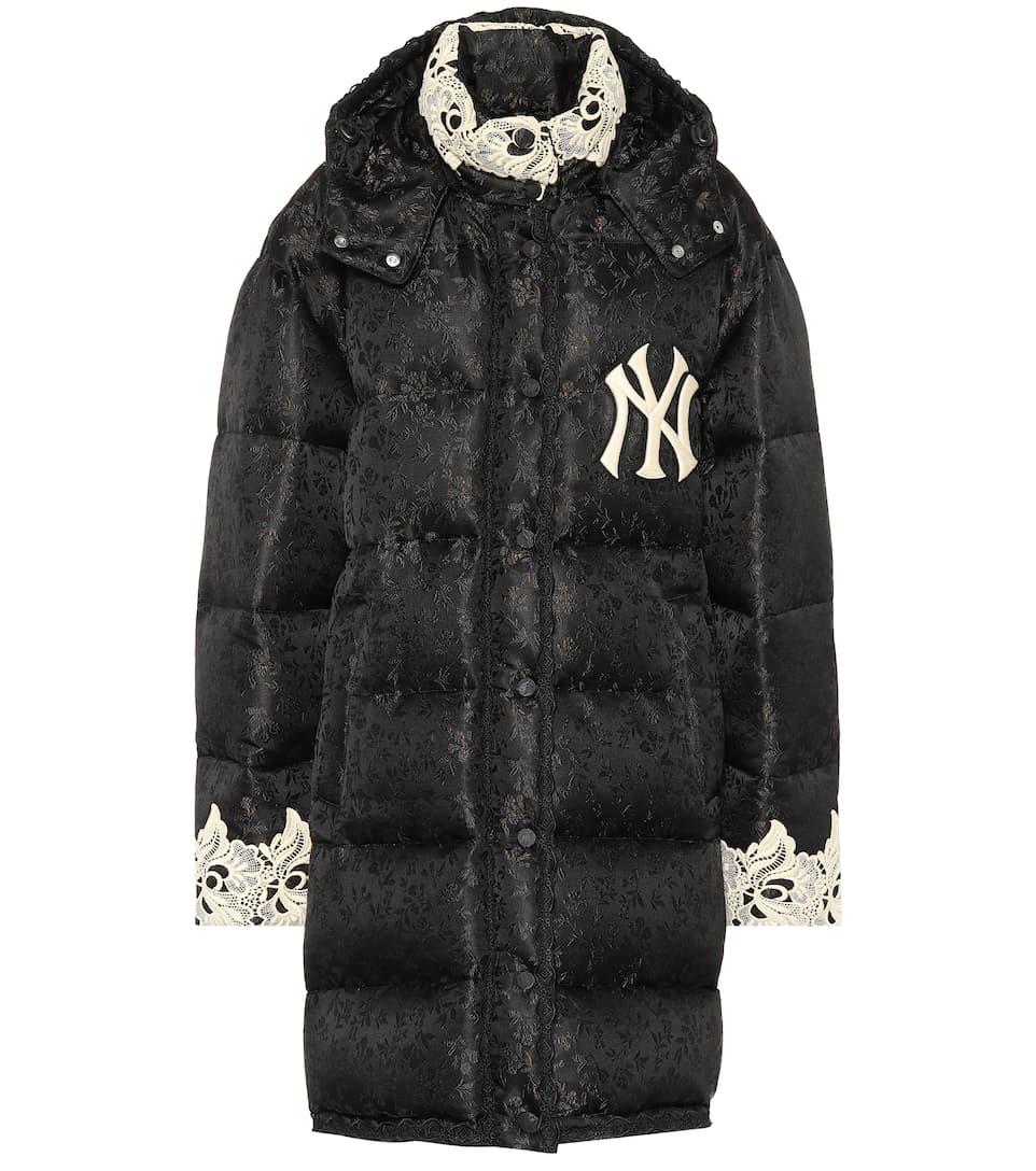 b8ffd66463850e Gucci - NY Yankees jacquard puffer coat | Mytheresa