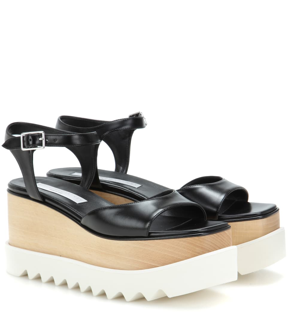 Stella McCartney Plateausandalen Felix