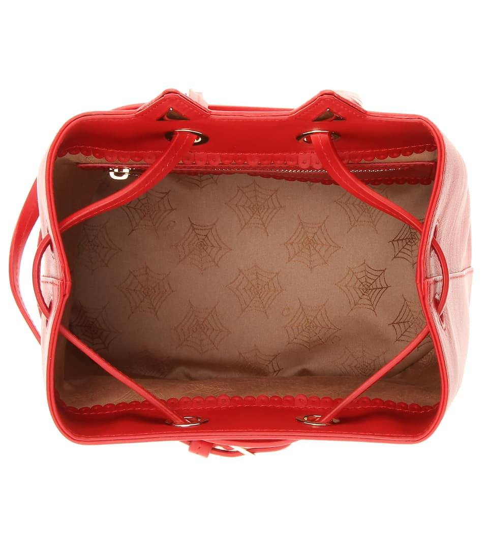 Freie Verschiffen-Angebote Offizieller Online-Verkauf Charlotte Olympia Bucket-Bag Feline aus Leder 5Kpls