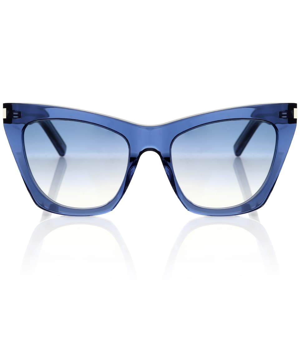 Kate 55Mm Cat Eye Sunglasses - Blue