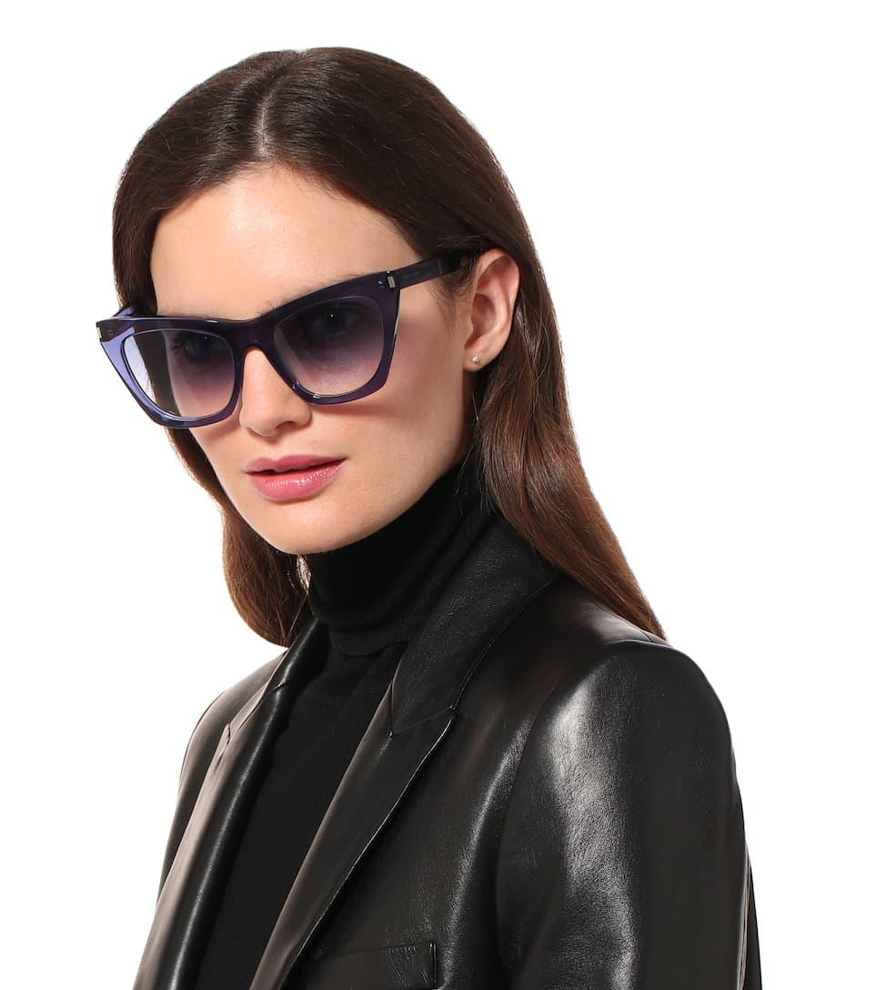 3b37b8fb2aea3 Kate cat-eye sunglasses. Saint Laurent