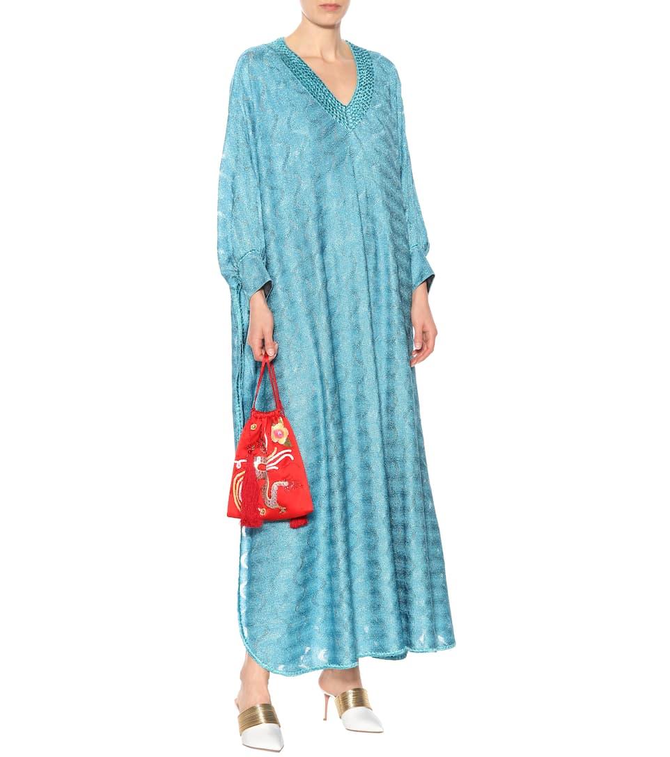 Missoni - Robe longue métallisée Footlocker En Ligne Finishline Faire Du Shopping h5W58ayq