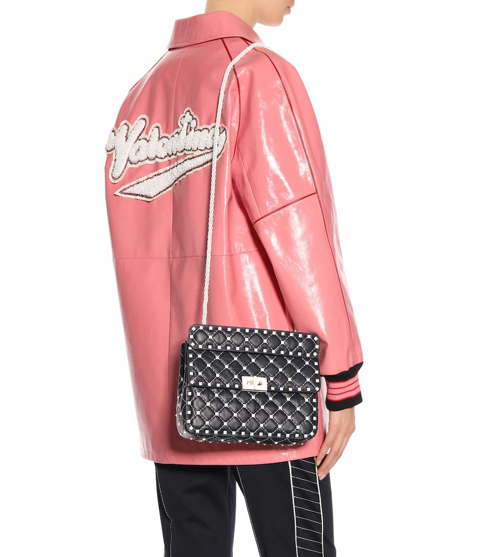 How Much For Sale Outlet Latest Collections Valentino Valentino Garavani Free Rockstud shoulder bag Outlet Great Deals L0zMiv