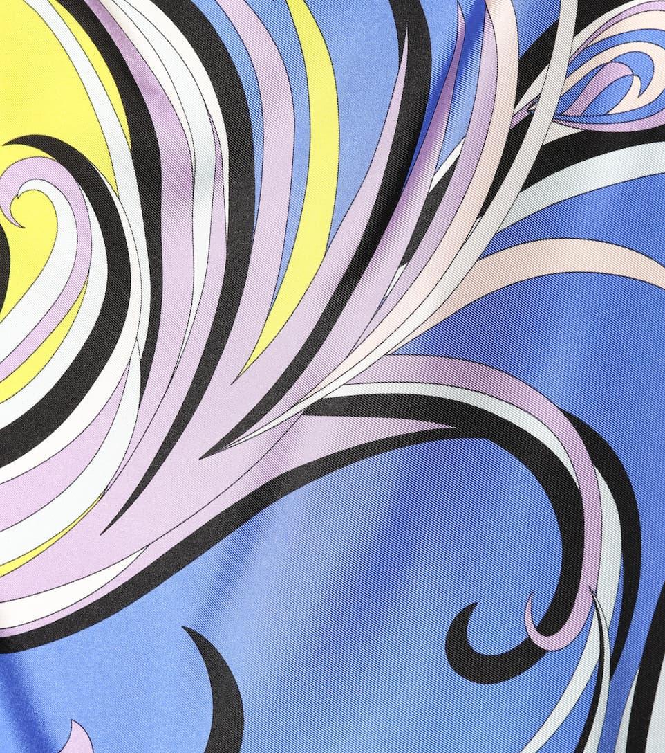 Emilio Pucci Beach Bedruckter Kaftan aus Seide