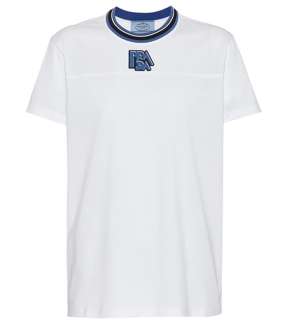 T shirt In Cotone Cotone shirt Prada T In Prada qzVpUGSM