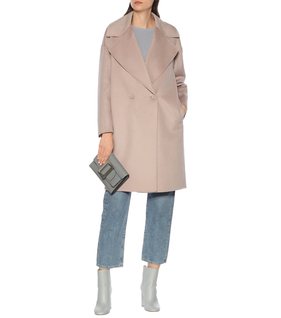 S Max Mara - Savana wool and cashmere coat