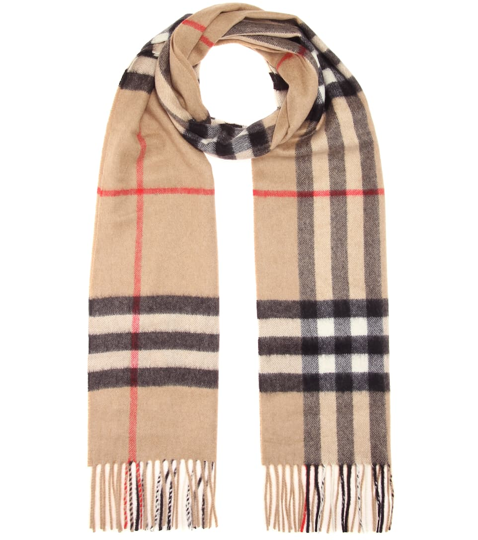 Giant Icon cashmere scarf Burberry jqJ96