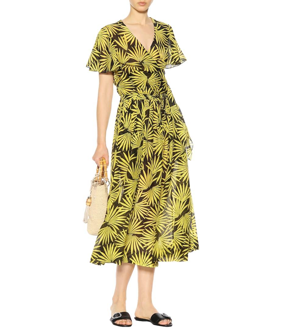 Diane von Furstenberg Cropped Top aus Baumwolle und Seide