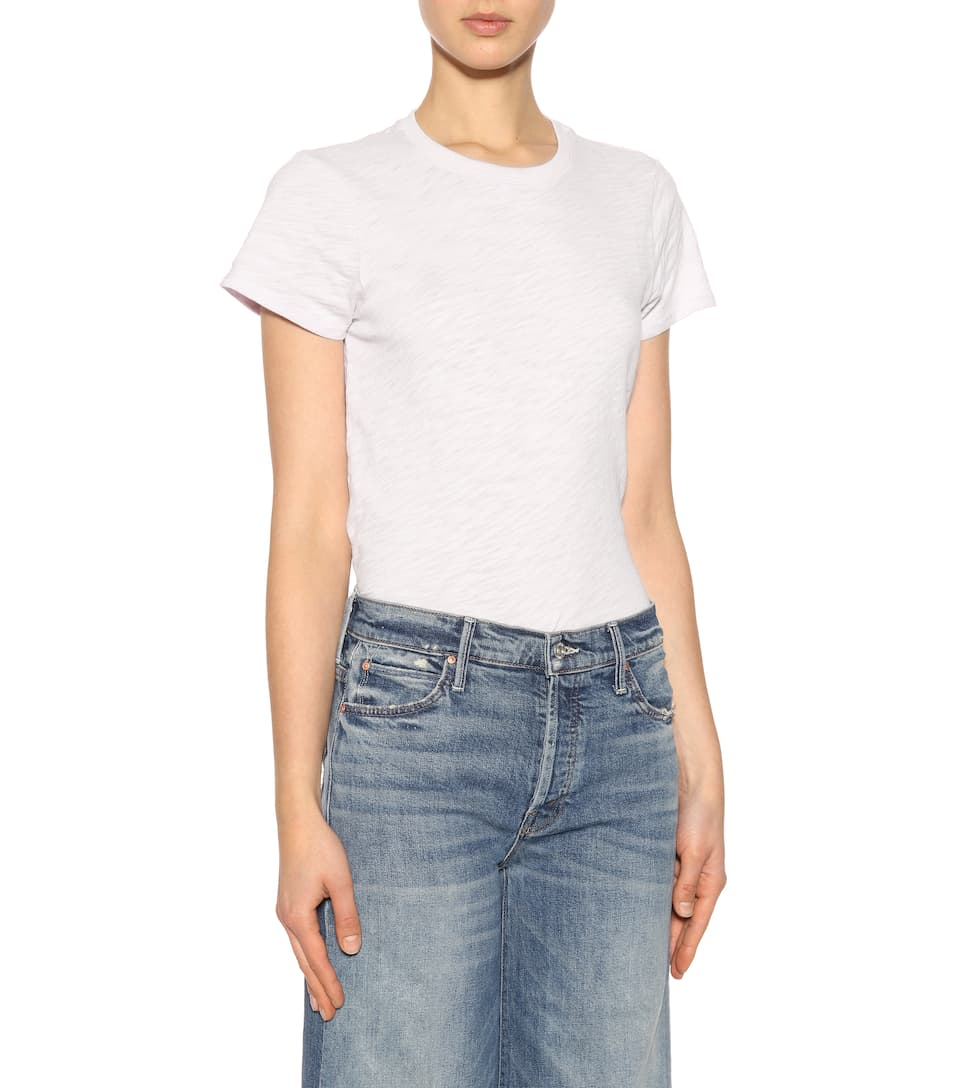 Mother Cropped Jeans The Stunner Rolle