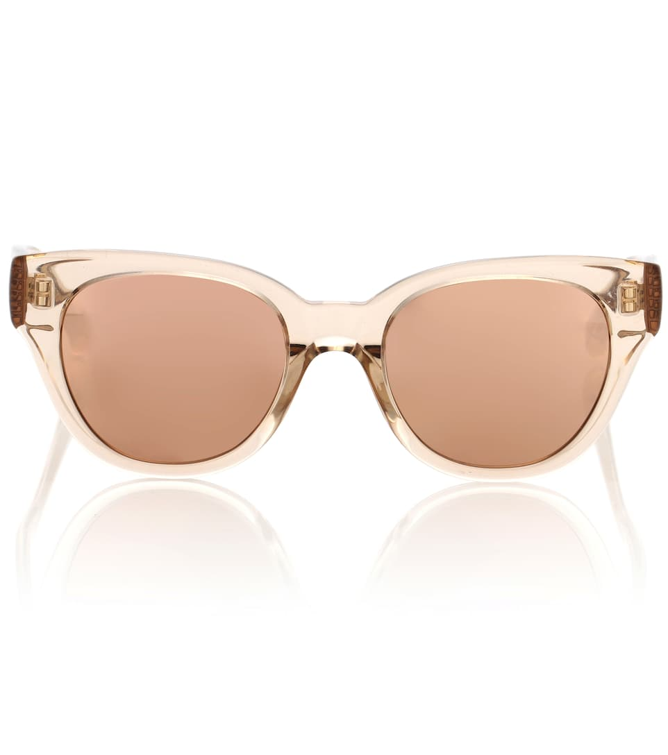 653 C5 Rectangular Sunglasses - Linda Farrow