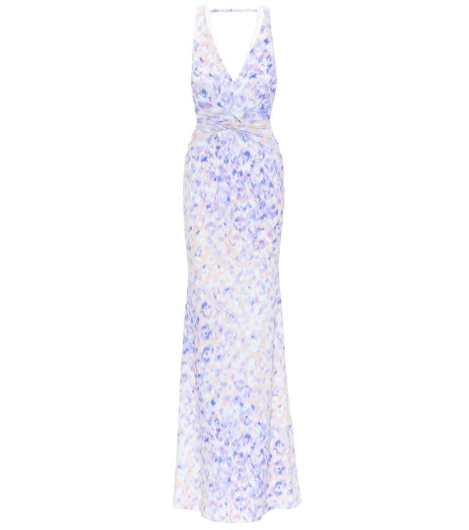 Roberto Cavalli Printed Maxi Dress