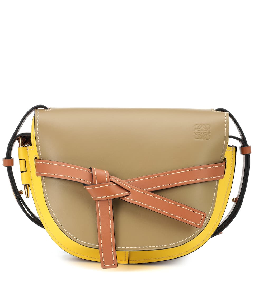 abb4facdc6 Gate Small Leather Crossbody Bag - Loewe