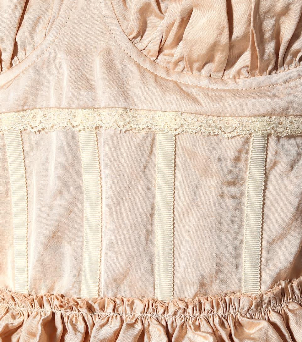 Midi Orely Robe Coton Mélangé Collection En Brock q6avxH46