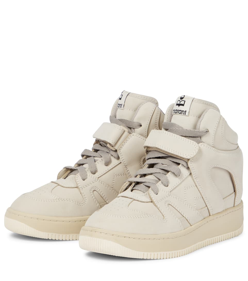 Brooklee Leather High-Top Sneakers
