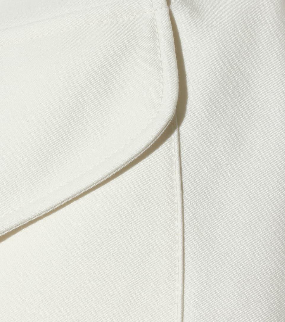 Moncler Gamme Rouge Wattierte Jacke Grand Sandy aus Baumwolle und Seide
