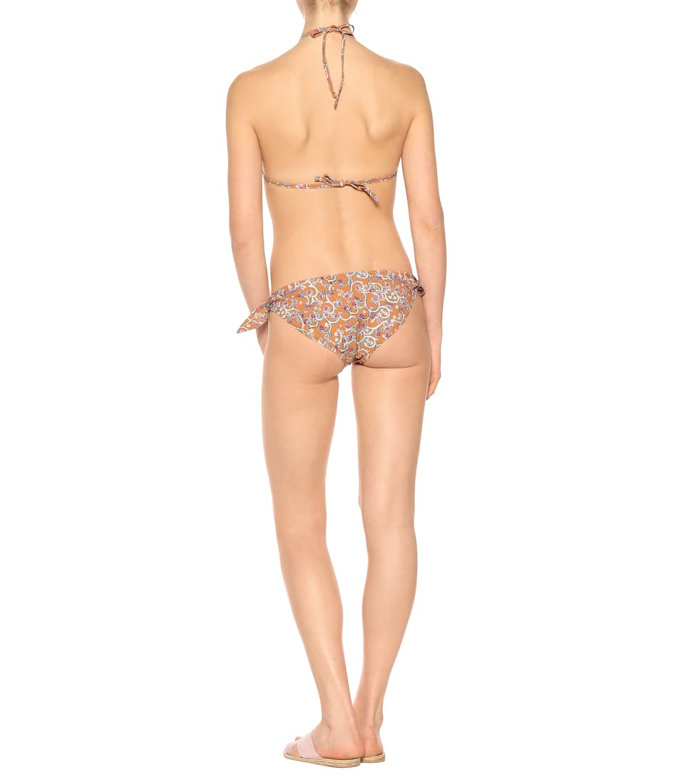 Isabel Marant, Étoile Bedrucktes Bikini-Oberteil Shayla