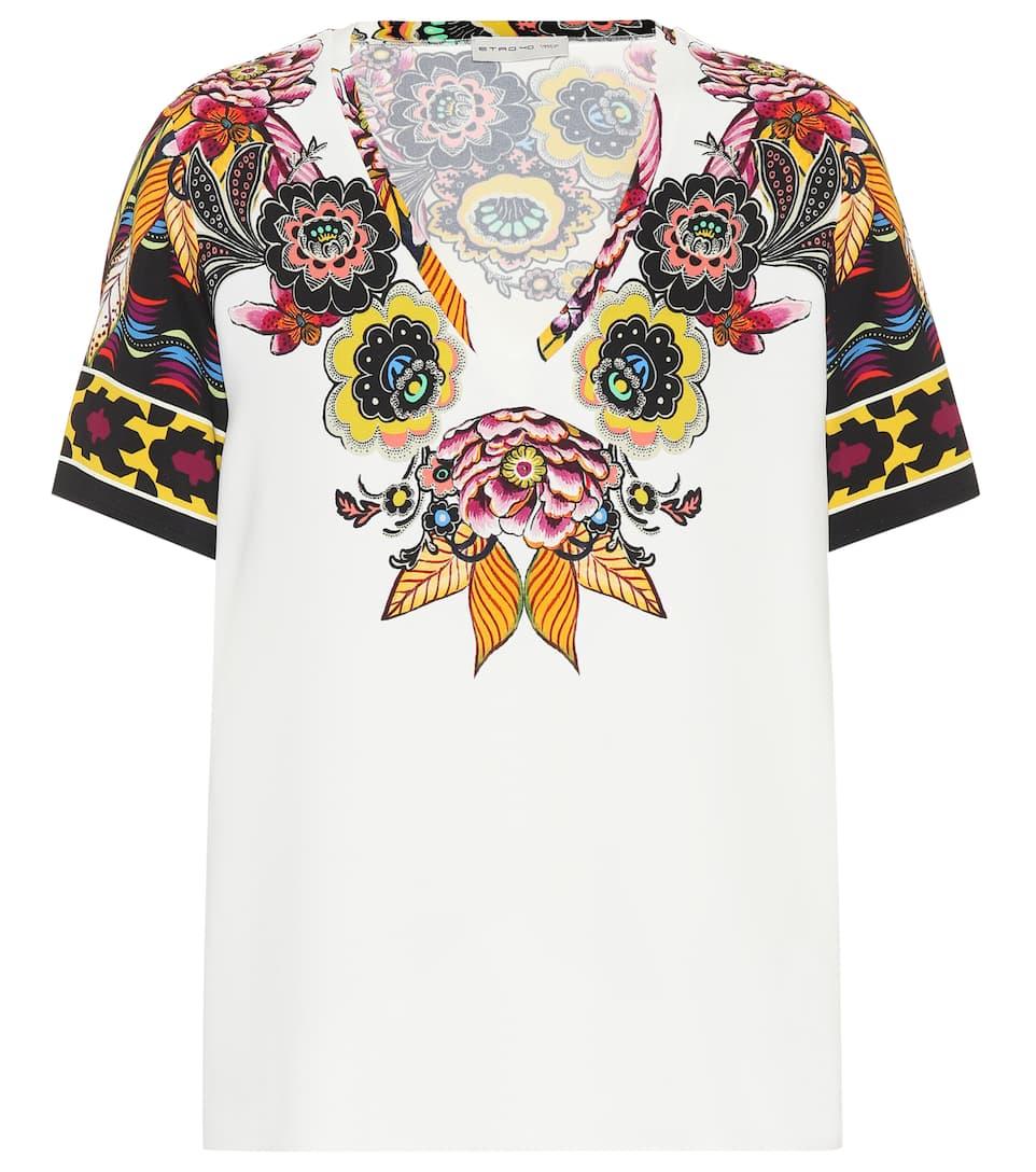 Etro Bedrucktes T-Shirt