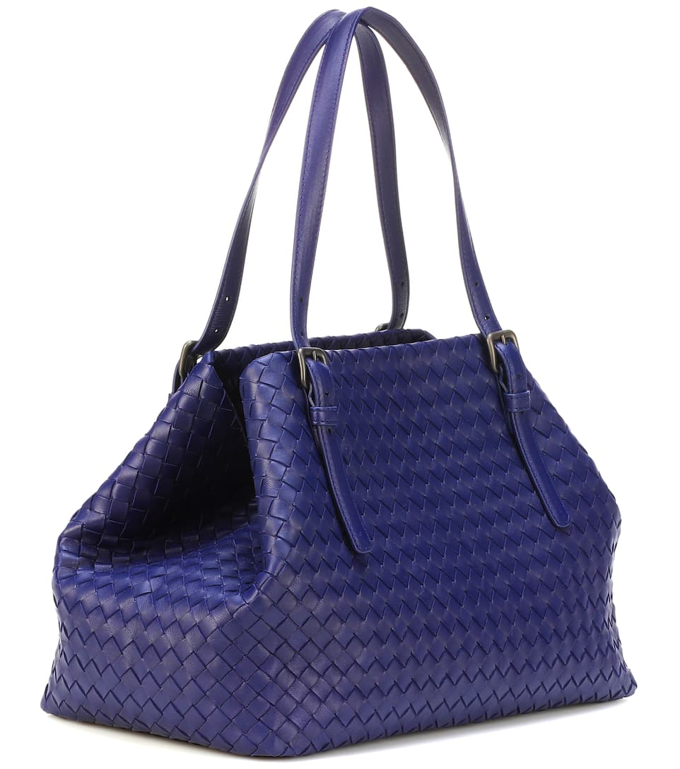 Cabas En Cuir Intrecciato Cesta Medium - Bottega Veneta Footaction nQpgpaT