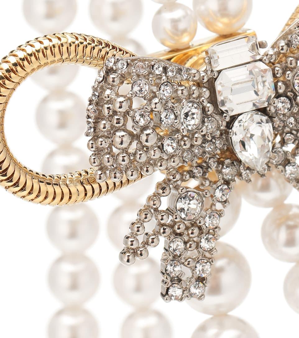 Perles Collier Miu À En Fantaisie Cristaux vmNn80w