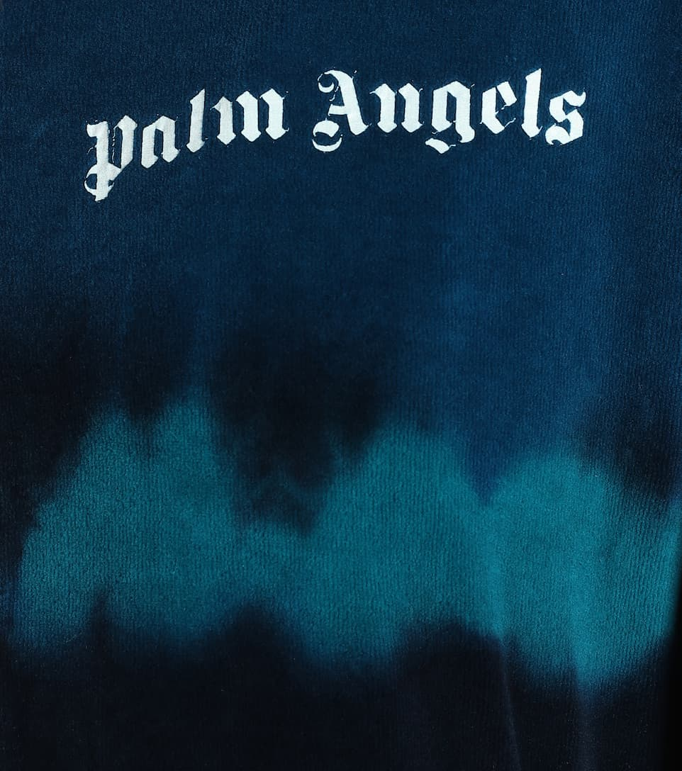 Palm Angels - Cotton-blend chenille track jacket