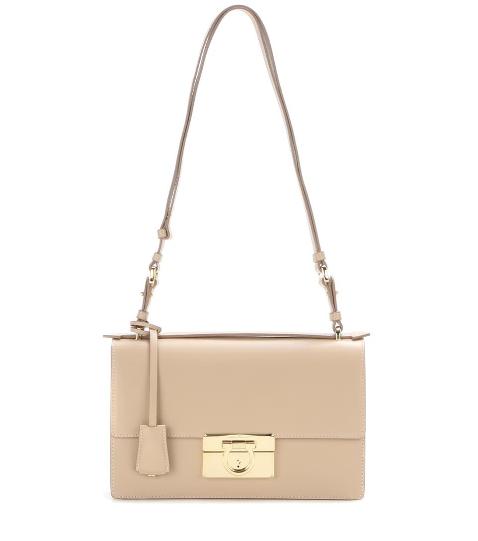 Salvatore Ferragamo Aileen Medium leather shoulder bag