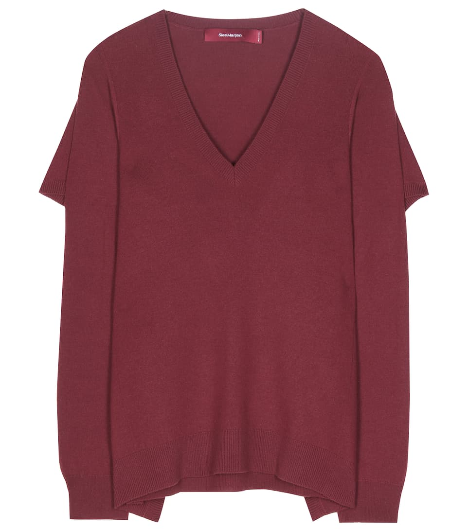 Sies Marjan Wool and cashmere-blend sweater