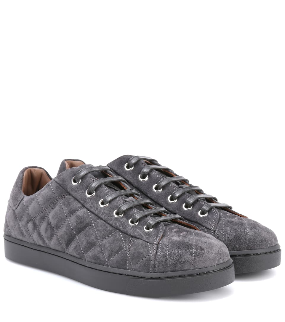 Gianvito Rossi Low Driver suede sneakers MReRIi