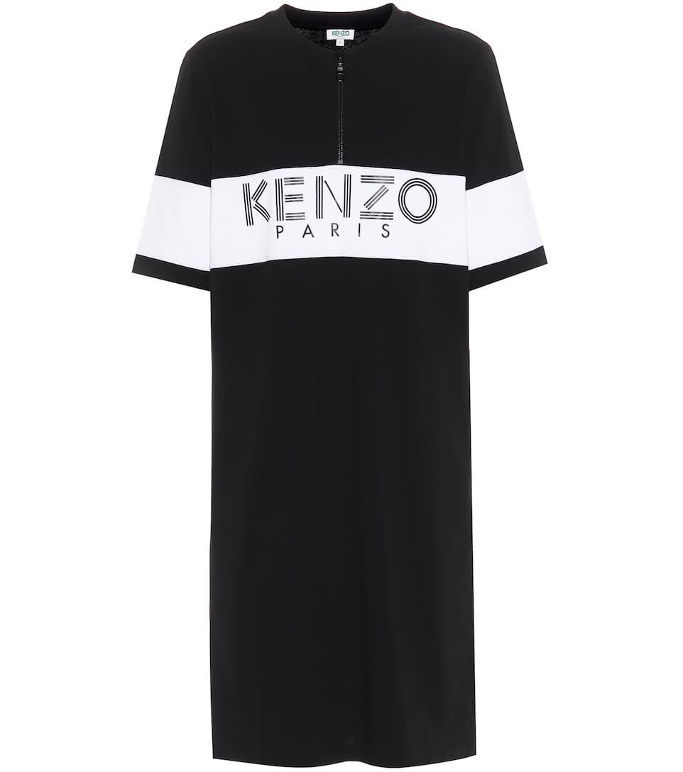 Robe T-Shirt En Coton - Kenzo