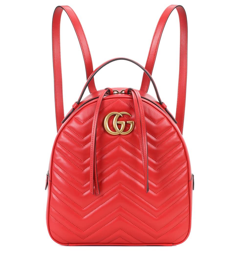 12dca9eeeb Gg Marmont Matelassé Leather Backpack