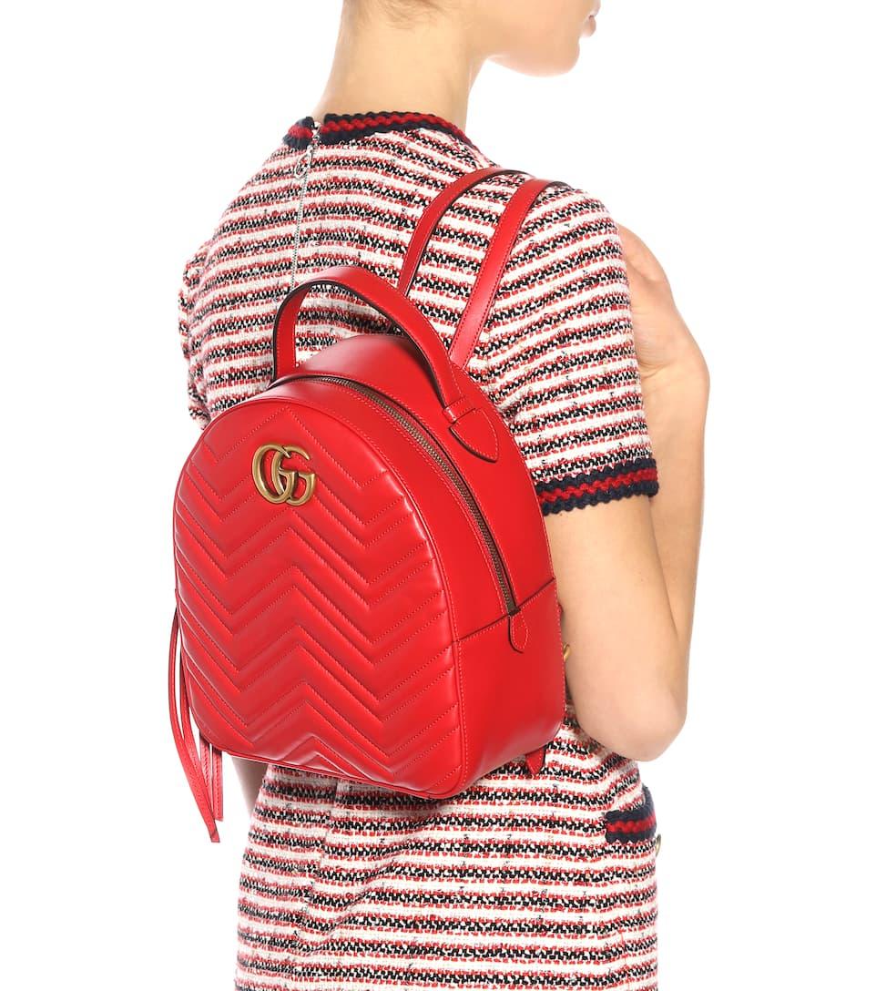 2d3d13cbf994d3 Gg Marmont Matelassé Leather Backpack | Gucci - mytheresa.com