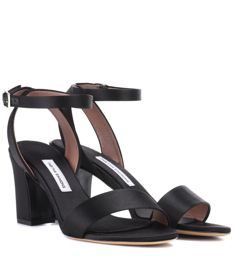 LETICIA SATIN SANDALS