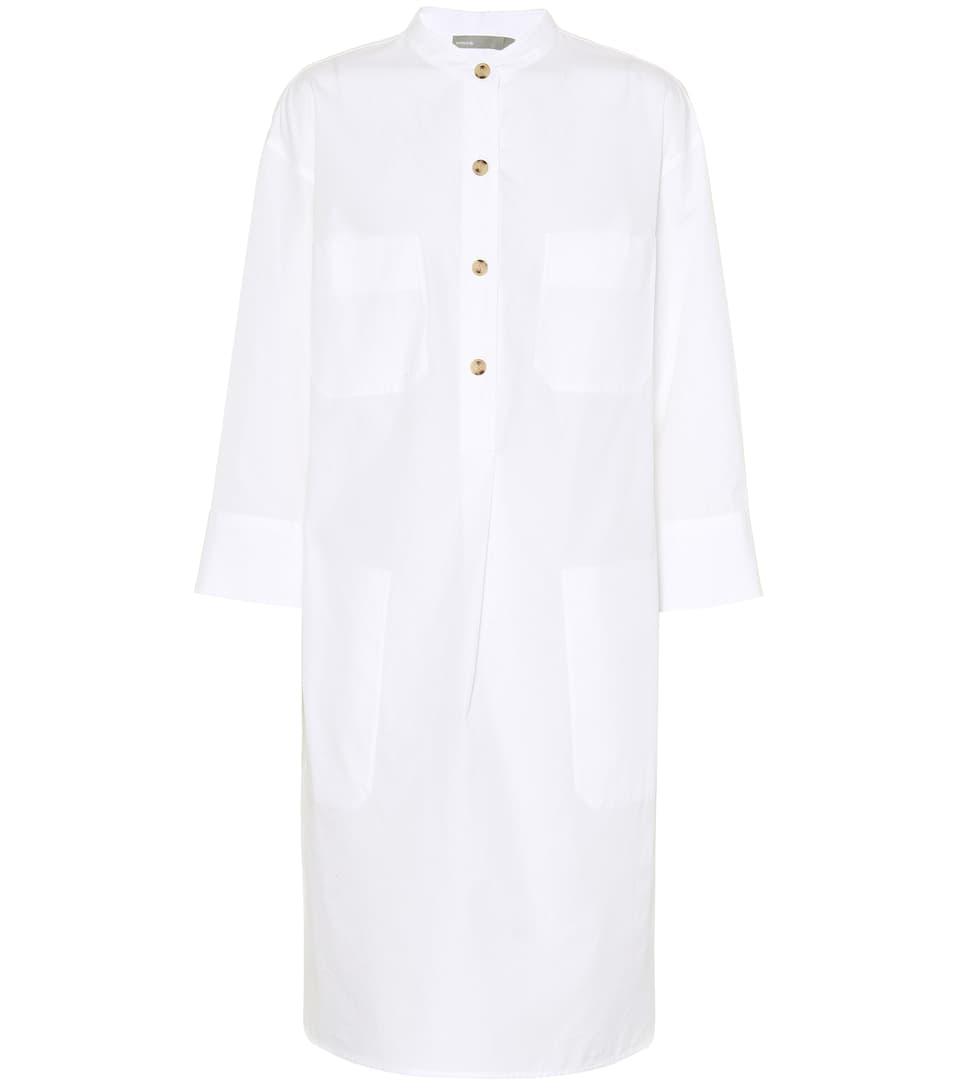 de blanco algodón Camisa vince vestido óptico fg7xSxwH