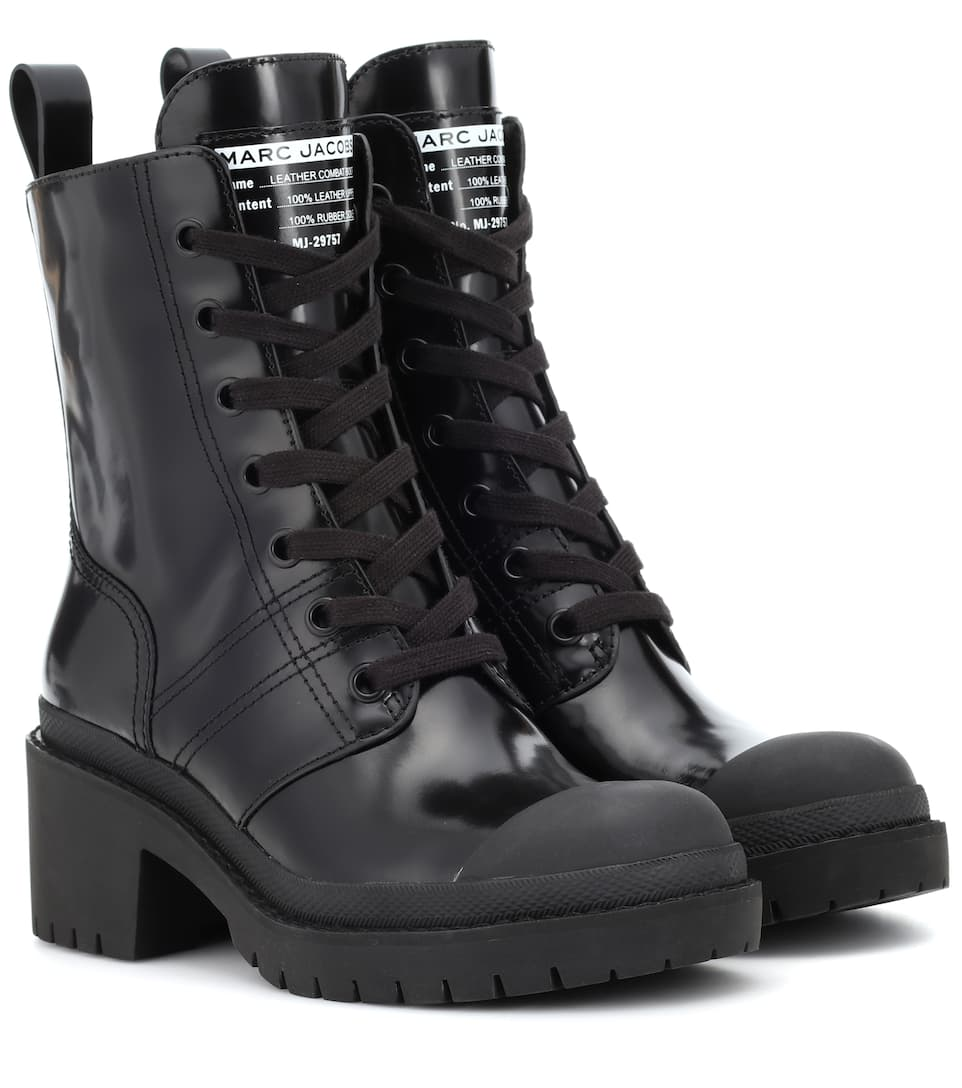 Bristol Leather Ankle Boots by Marc Jacobs