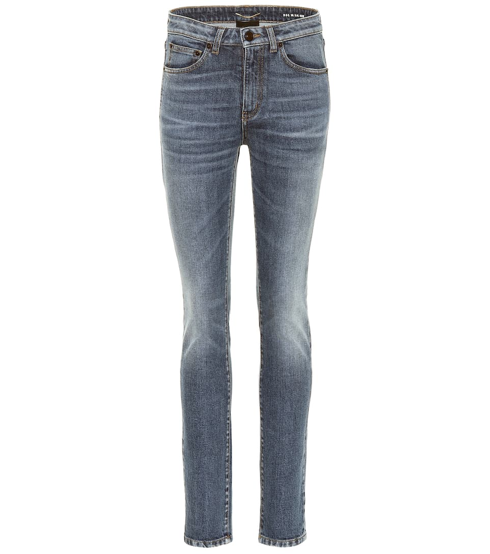 78c9ccafcae High-Rise Skinny Jeans - Saint Laurent | mytheresa