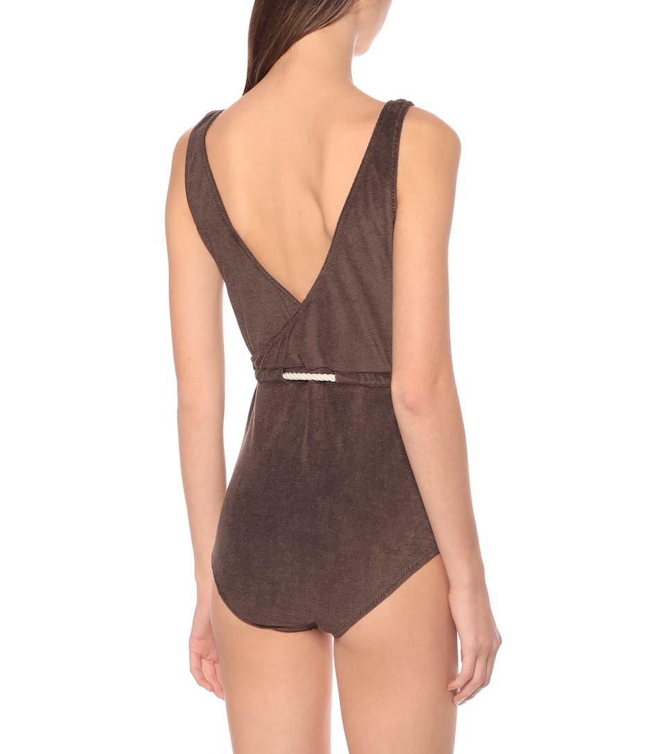 Lisa Marie Fernandez - Yasmin terrycloth swimsuit