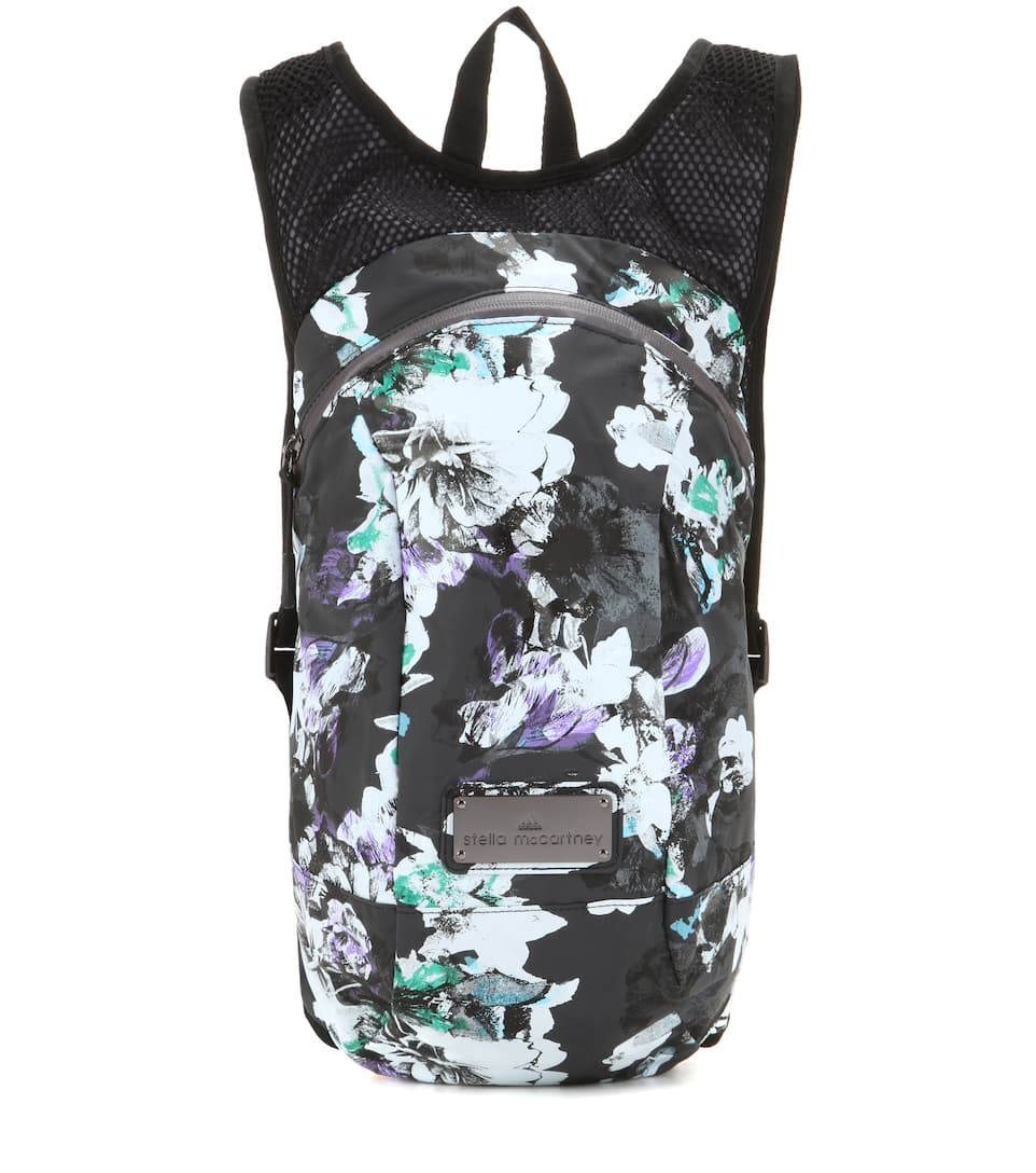 Adidas by Stella McCartney Floral-printed backpack