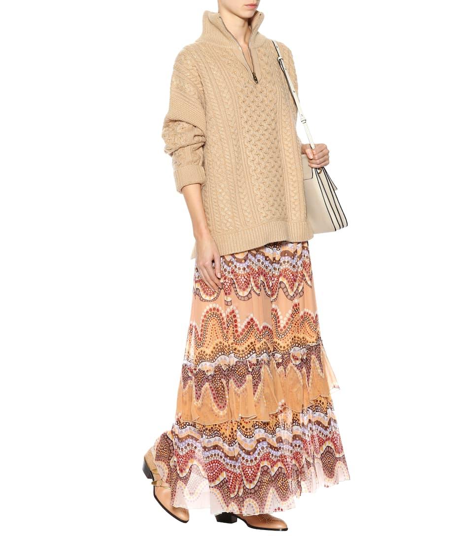 cachemira lana com suéter para Seed de Brown y Chloé mytheresa Exclusivo xwpqq8O